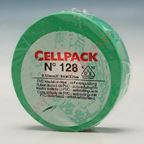 Изоляционная ПВХ лента Cellpack №128. по 25м зеленая