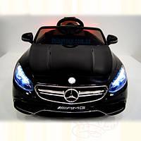 Детский электромобиль Mercedes S63 лакированый