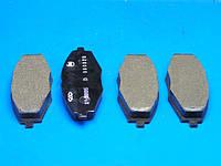Колодки тормозные, передние Chery S11 QQ (Чери КУ-КУ), S11-3501080