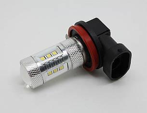 Светодиодная автолампа H10, 15W (560Lm) Original Samsung LED chip (SMD2323) + линза