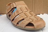 Мужские сандали №00910ХМ (коричневые)