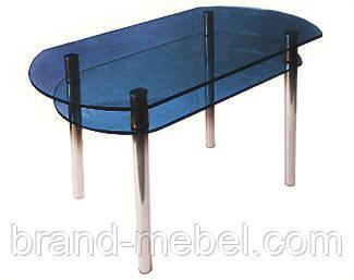 Стол стеклянный КС-5 тонированный