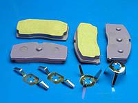 """Колодки тормозные передние """"Bremsweg"""" ceramilong (life) Geely CK-1 (Джили СК-1), 3501190005-00BL"""