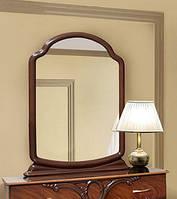 Зеркало Лаура 1080х810х60мм орех лак Світ Меблів