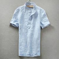 Рубашка льная мужская, женская унисекс. Натуральный лен. Разный цвет. Любой размер, фото 1