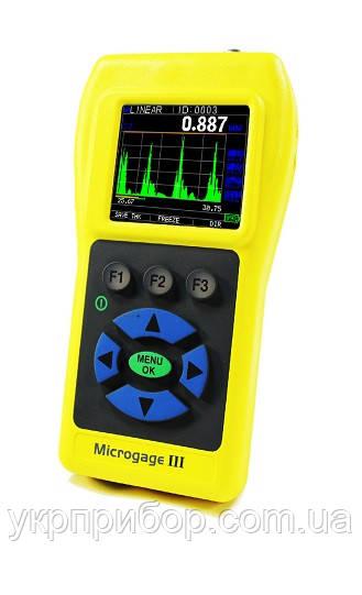 MICROGAGE III прецизионный ультразвуковой толщиномер