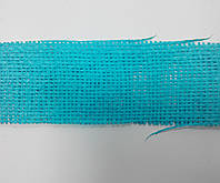 Сетка флористическая натуральная голубая