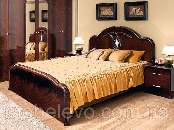 Кровать Лаура 180 2сп 1165х2020х2100мм Світ Меблів
