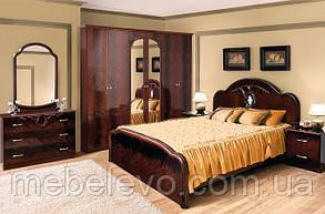 Кровать Лаура 180 2сп 1165х2020х2100мм Світ Меблів, фото 2