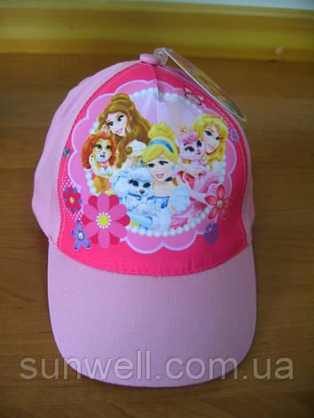 Кепка для дівчинки Принцеси Дісней р. 52-54, Sun City, фото 2