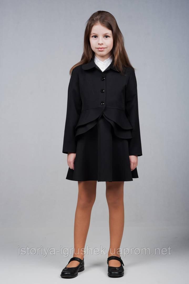 Пиджак школьный для девочек П-60