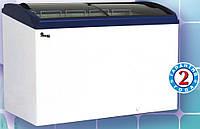 Морозильный ларь бонета с гнутым стеклом JUKA M800S