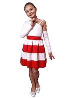 Платье   нарядное детское   М -1058 рост 116-152 разные цвета, фото 1