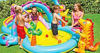 """Детский игровой центр бассейн Intex 57135 """"Планета Динозавров"""""""