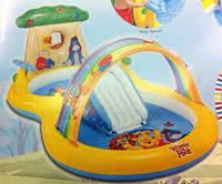 """Детский надувной игровой центр """"Винни Пух"""" Intex 57136"""