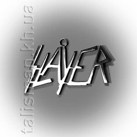 Кулон STN02 - Slayer (лого), фото 2
