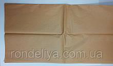 Папір тишею (сигаретний) 50х50см 10 аркушів коричнева