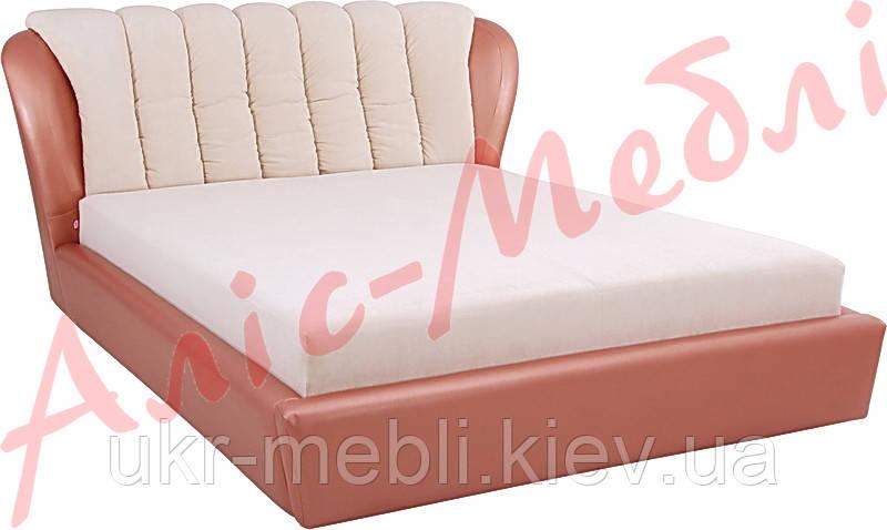 Кровать двуспальная Олимпия 140х200, Алис-м