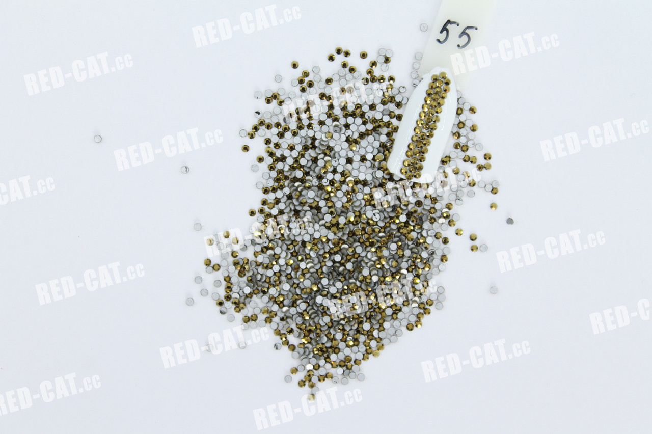 Стрази скляні 1,6 мм №55