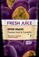 Жидкое крем-мыло Fresh Juice Passion fruit & Camellia (Маракуйя и камелия) дой-пак 460мл