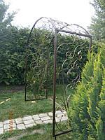 Арка садовая 8