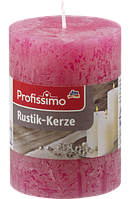 Profissimo Rustikkerze pink -  Свеча декоративная цвет розовый длина 100 мм, диаметры 68 мм, 1 шт