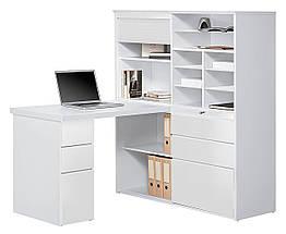 Стол письменный компьютерный из массива дерева 060