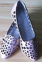 Versace кожа! копия стильные балетки туфли мокасины сандалии лето