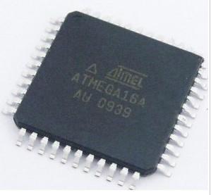 ATmega16A-AU, Микроконтроллер 8-Бит, AVR, 16МГц, 16КБ Flash, TQFP-44