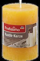 Profissimo Rustikkerze orange - Свеча декоративная цвет оранжевый длина 100 мм, диаметры 68 мм, 1 шт