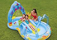 Детский надувной игровой центр Русалки Mermaid Kingdom Play Center Intex 57139