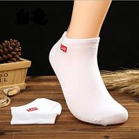 Носки Lee низкие, белые