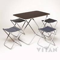 """Комплект """"Пикник"""" Стол+4 стула"""