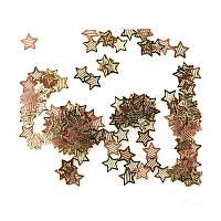 Металлические наклейки (декор-логотип-в пакетике) звездочки