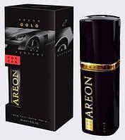 Areon Car Perfume 50ml Black Silver пластик