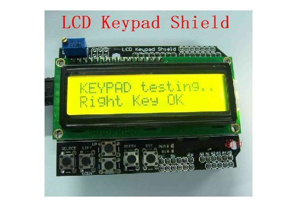 Arduino ЖК LCD 1602 16х2 модуль дисплей КНОПКИ