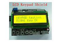 Arduino ЖК LCD 1602 16х2 модуль дисплей КНОПКИ, фото 1