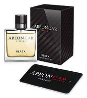 Areon Car Perfume 50ml Black стекло
