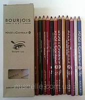 Контурные карандаши для губ и глаз Bourjois khol & contour xl