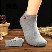 Носки Lee низкие, серые