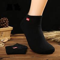Носки Lee низкие, черные, фото 1