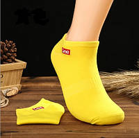 Носки Lee низкие, желтые, фото 1