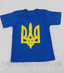 Дитяча з гербом синя до 8р