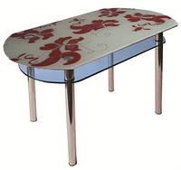 Стол стеклянный КС-5 покраска