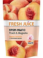 Жидкое крем-мыло Персик и магнолия дой-пак 460мл