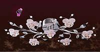 Люстра в стиле флористика (на пульте)