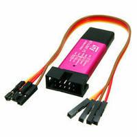 Программатор микроконтролерів Stlink St-Link v2 stm8 stm32 програматор, фото 1