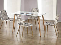 Стол обеденный стеклянный ULSTER Halmar