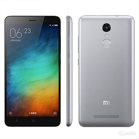Смартфон ORIGINAL Xiaomi Redmi Note Pro 3 3GB/32GB Gray Гарантия 1 Год!, фото 2