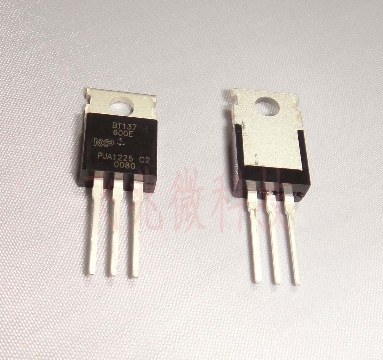 BT137-600E,127, Симистор 8А 600В 10мА, TO-220AB